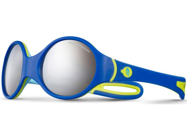 Julbo Loop Spectron 4 Sunglasses 2-4Y Kids, blue/sky blue/green-gray flash silver